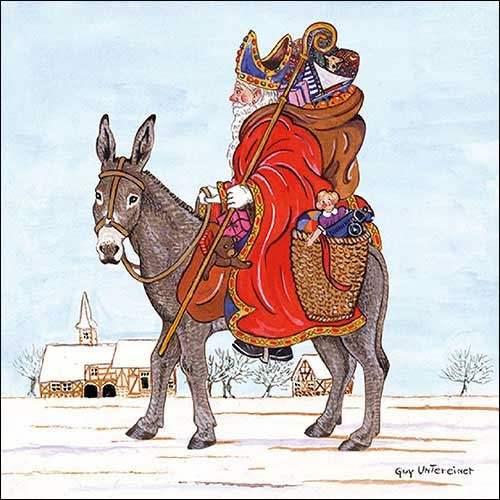 Serviette St. Nikolaus